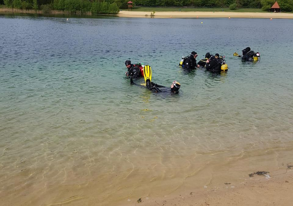 Open Water und Advanced Open Water Diver Kurs gestartet