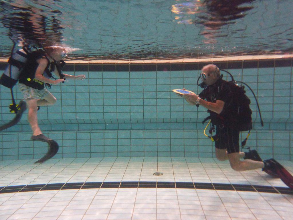 Tauchsportfreunde Nemo Unterwasserbilder Schnuppertauchen